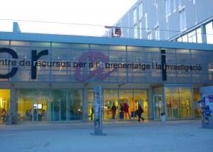 El espacio del CRAI de Tarragona en la Universidad Rovira i Virgili