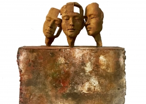 Bronze sculpture Beatrice Bizot