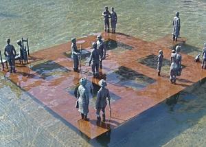 public sculpture Béatrice Bizot, La Plaça