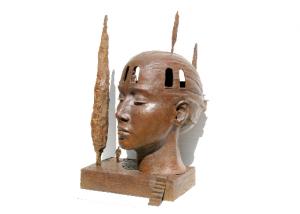 Paysage intérieur, bronze, 74/42/44 cm 2012